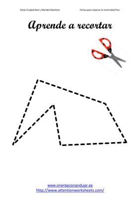 Aprende a recortar figuras con lineas rectas imegen 1