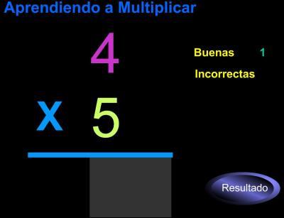 aprendemos a multiplicar