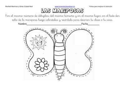 lateralidad y recortar mariposas 5