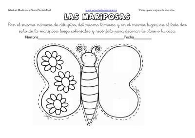lateralidad y recortar mariposas 9