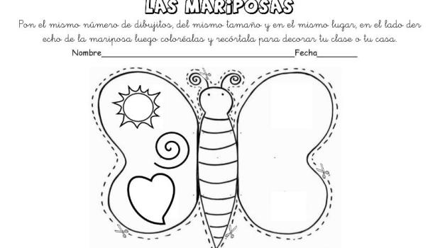 lateralidad y recortar mariposas 11