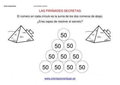 sumas primaria piramides secretas 4 ALTURAS EDITABLE