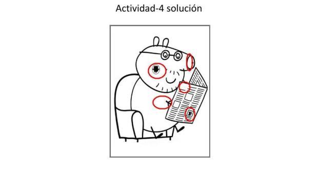 encuentra las diferencias dibujos animados 4