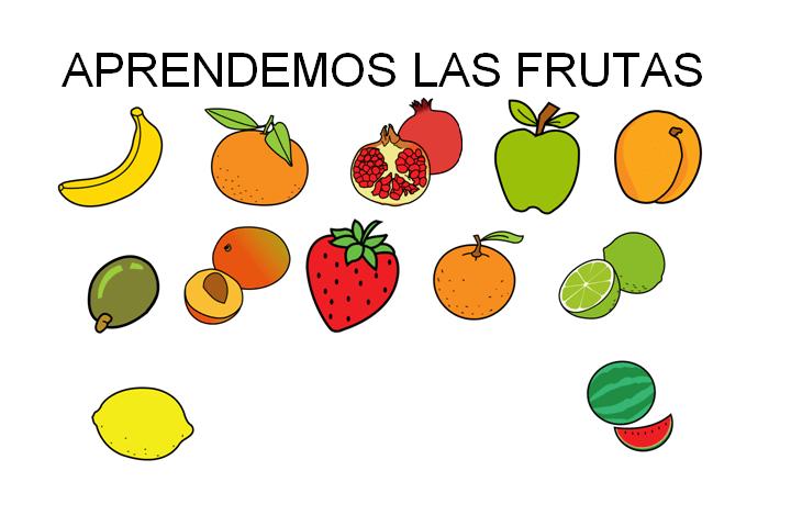Aprendemos las frutas COLECCIN DE ACTIVIDADES