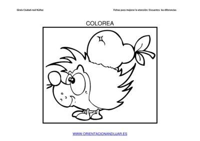 COLOREAMOS DIBUJOS DE ERIZOS IMAGENES_07