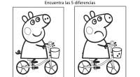 Encuentra las diferencias con dibujos animados, este es un ejercicio para potenciar la percepción visual y la atención en los niños. Actividades de estimulación de la inteligencia en niños en […]