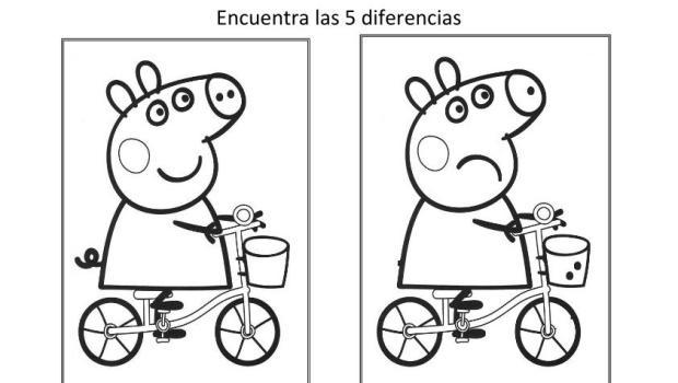 Encuentra Las Diferencias Dibujos Animados Para Ninos Imagenes 2