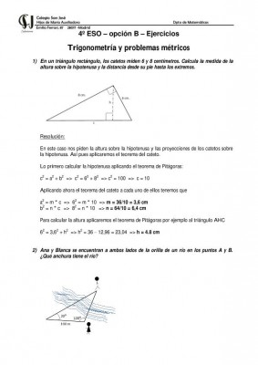 MATEMATICAS 4 ESO