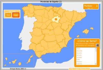 PROVINCIAS de España COMO SE LLAMA