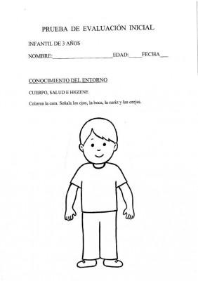 INICIAL INFANTIL 3 AÑOS CONOCIMIENTO ENTORNO