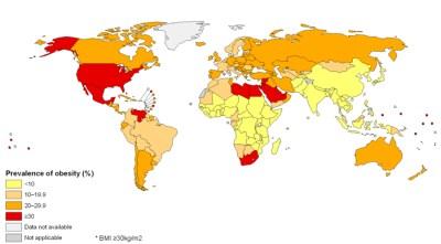 prevalencia de obesidad
