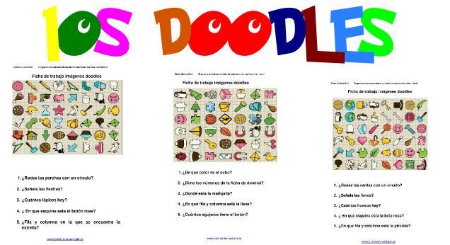 Programa de entrenamiento instrucciones escritas Los doodleNIVEL MEDIO DESTACADA