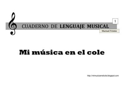 lenguaje musical 1 MUSICA PRIMARIA