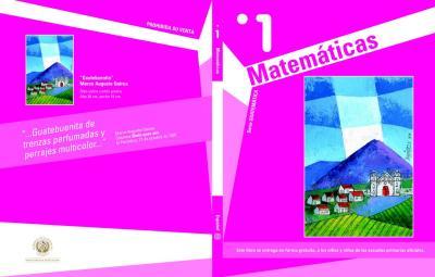 portada libro del alumno matetamicas primero o primer grado de primaria imagen 1