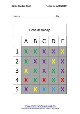 COMPLETA LA TABLA SEGUN PATRON ficha de trabajo editable imagen 2