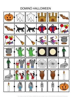 Domino_Halloween_Pictograma_Pictograma_Fichas_pequenas IMAGEN