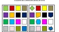 Encuentra las diferencias entres dos conjuntos en los que ha ocurrido un cambio en la forma de cinco de sus imágenes, es un ejercicio para potenciar la percepción visual y […]