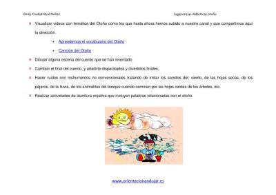 SUGERENCIAS DIDACTICAS PARA EL OTOÑO ORIENTACIÓN ANDUJAR imagen 2