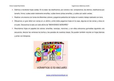 SUGERENCIAS DIDACTICAS PARA EL OTOÑO ORIENTACIÓN ANDUJAR imagen 4