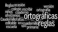En esta ocasión os ofrecemos el Caudernillo de Reglas ortográficas en versión editable y en varios tipos de letra para que se adapte a vuestras necesidades. Ademas os explicamos como […]