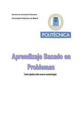Guía rapida del Aprendizaje basado en problemas ABP PBL imagen