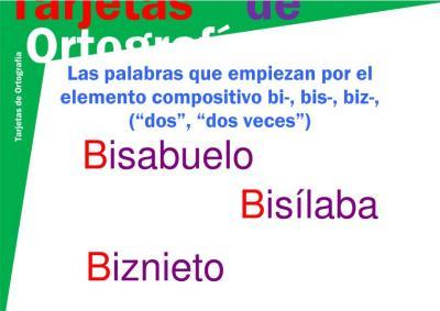 tarjeta b-10 bi-, bis-, biz imagen