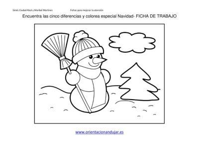 ENCUENTRA LAS DIFERENCIAS ESPECIAL NAVIDAD 2013 FICHA 2 imagen 2