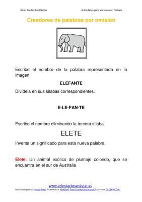 Ejercicios para niños con dislexia Omisión de sílabas imagenes_01