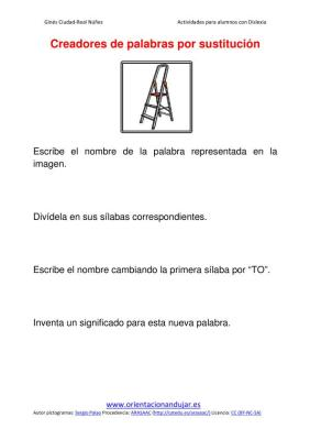 Ejercicios para niños con dislexia sustitucion de silabas imagenes (3)