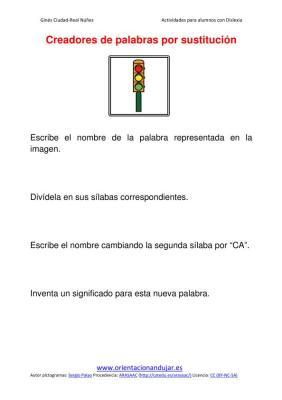 Ejercicios para niños con dislexia sustitucion de silabas imagenes (6)