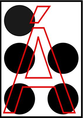 braille letra a acentuada