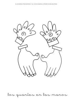 4.los guantes en las manos