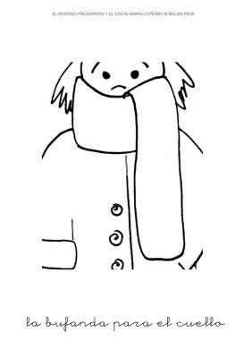 6.la bufanda para el cuello