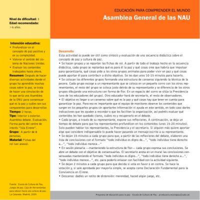 Asamblea General de las NAU imagen