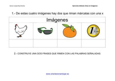 Actividades de rimas para alumnos con dislexia imagenes_3