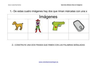 Actividades de rimas para alumnos con dislexia imagenes_4