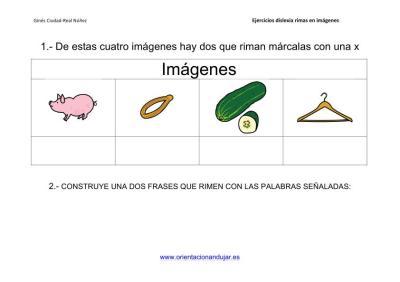 Actividades de rimas para alumnos con dislexia imagenes_8