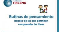 Compartimos con todos vosotros este fantástico material de la Fundacion Trilema:TRILEMAes un equipo de profesionales especializado en formación, innovación y gestión del cambio en el mundo de la educación. Comenzamos […]
