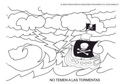 fichas para colorear el barco pirata carnaval (13)