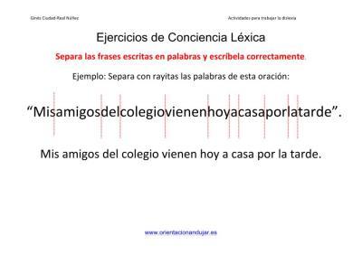 Ejercicios_dislexia_segementacion_frases largas en_palabras imagen 1