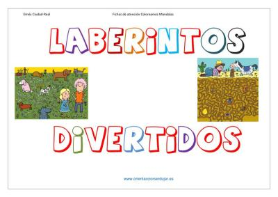laberintos divertidos a todo color imagenes_1