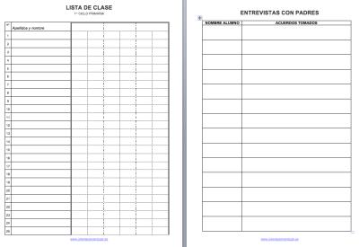 Cuaderno de trabajo, memonotas, registros de evaluación, etc 2014-2015 IMAGEN 2