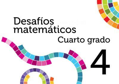DESAFIOS MATEMATICOS 4 PRIMARIA 4 GRADO PORTADA