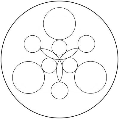 Mandala  de circulos 5