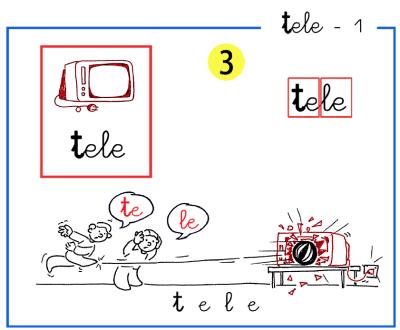 metodo de lectoescritura letra t