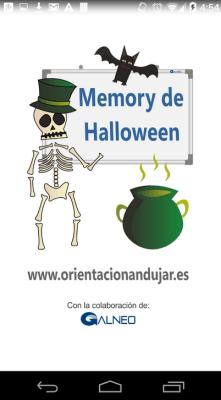 Terrorífico y divertido Memory de Halloween para Android APP gratuita portada