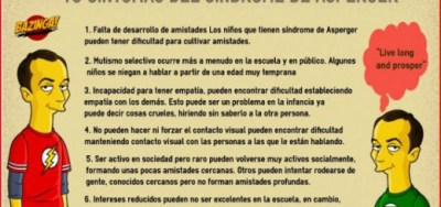 10 SÍNTOMAS DEL SÍNDROME DE ASPERGER