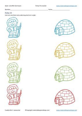 Fichas cuaderno 2 educacion preescolar  en imagenes_16