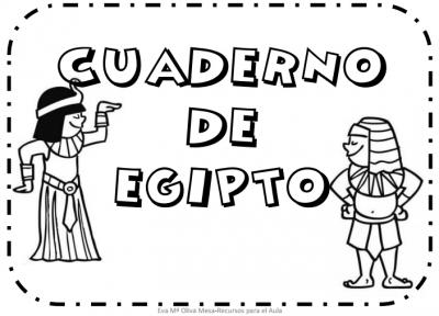 cuaderno egipto