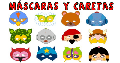 mascaras y caretas